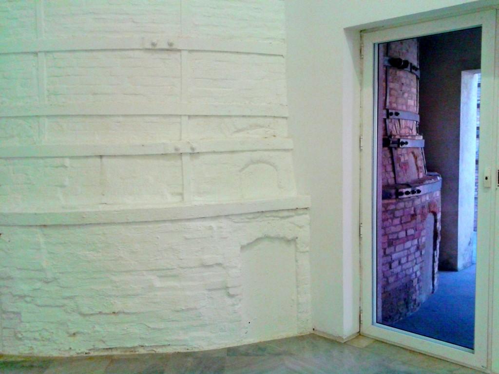 L'interno del CAAC: si nota la ristrutturazione di uno dei forni.