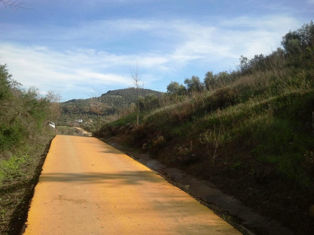 Cosa vedere a Olvera - La Via Verde della Sierra che collega Olvera a Puerto Serrano.