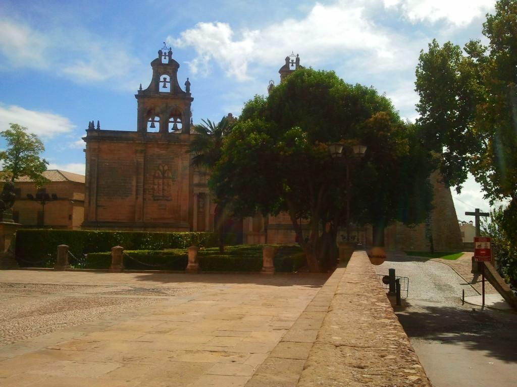 La Collegiata Santa Maria Maggiore de los Reales Alcázares du Úbeda.