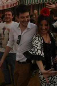 """Nº 5. """"Ballando"""" sevillanas alla Feria de Abril."""