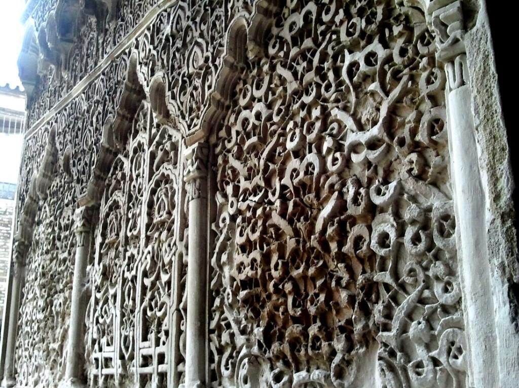 Uno dei tantissimi adorni mudejar dell'Alcazar di Siviglia.