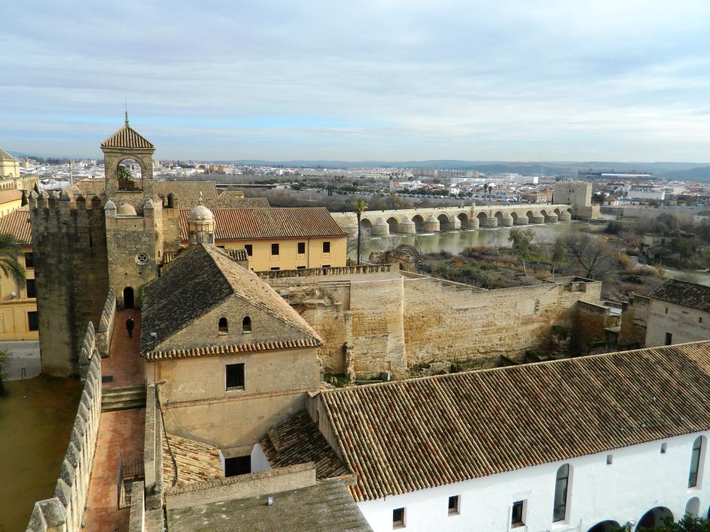 Córdoba dall'alto, dall'Alcazar de los Reyes Cristianos.