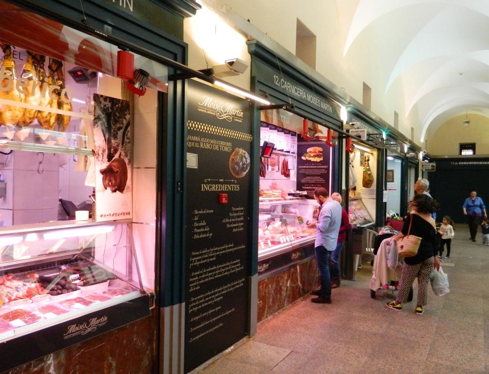 Nel Mercado de la Corredera di Cordoba.