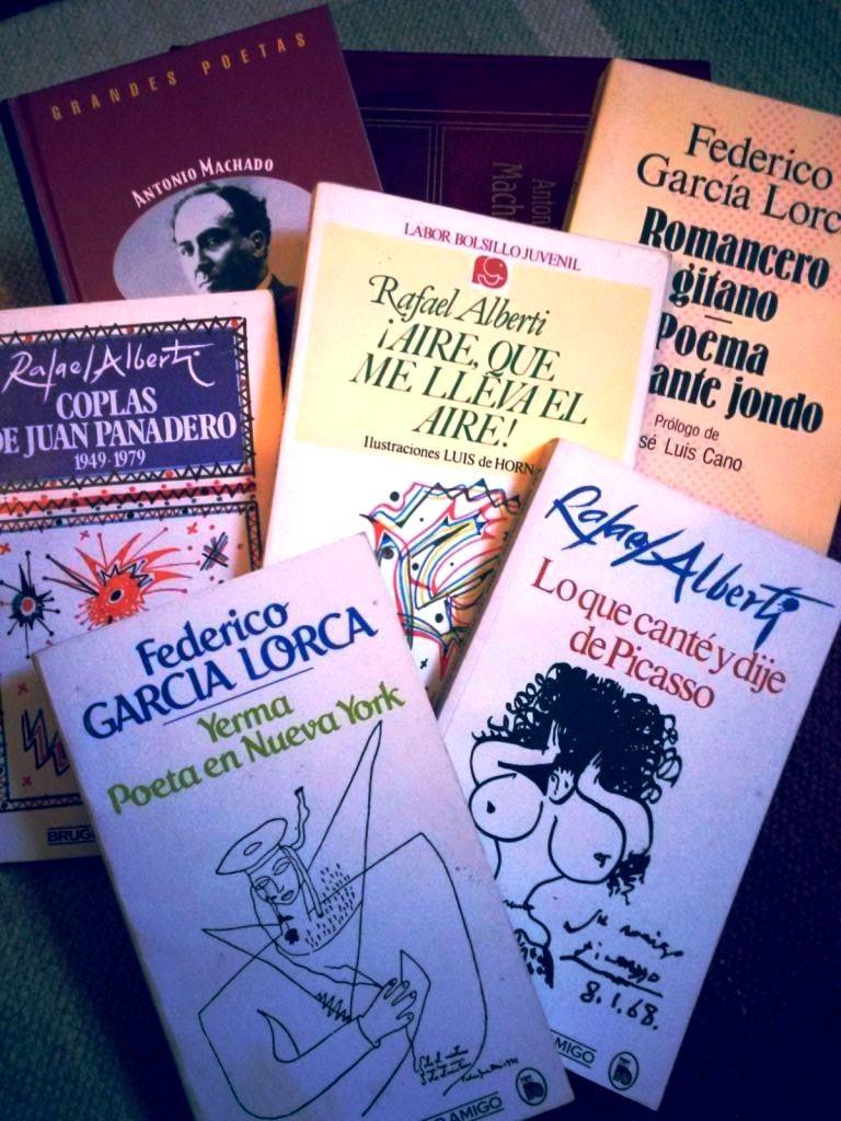 Alcuni testi degli autori sopra citati: A.Machado, R.Alberti, F.García Lorca.