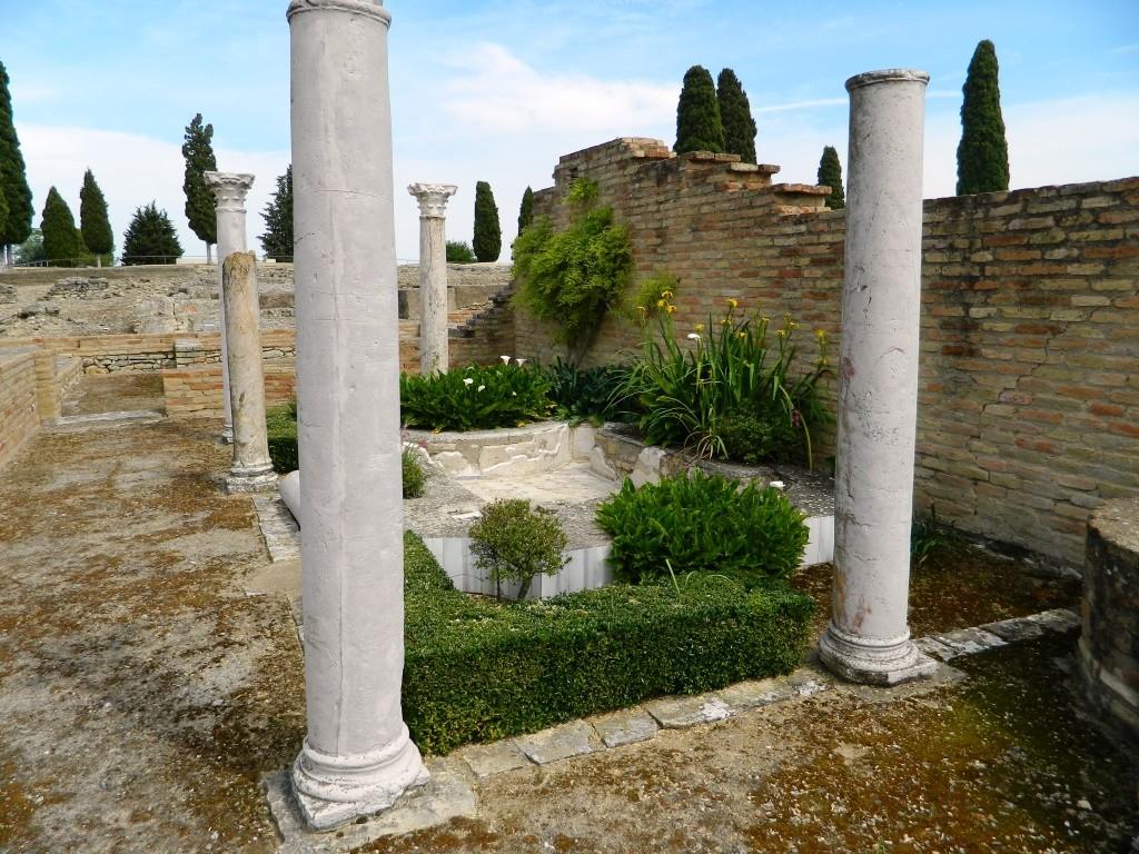 Cosa vedere ad Itálica - pajaros