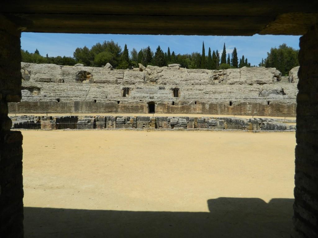 Cosa vedere ad Itálica - teatro romano