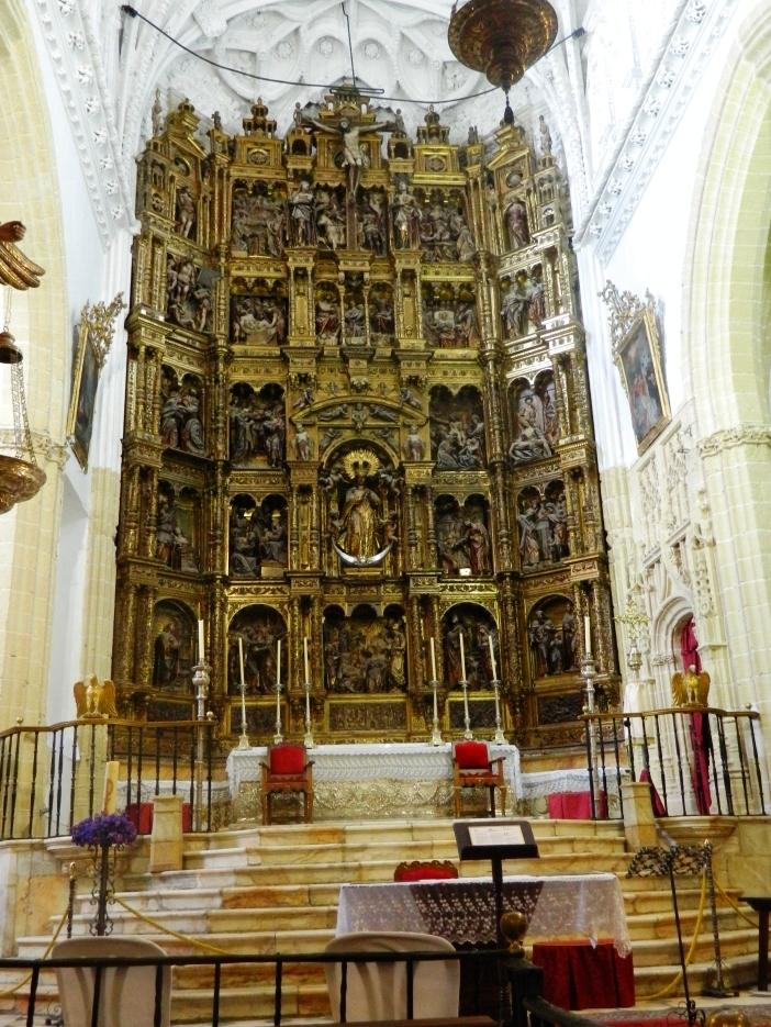Cosa vedere a Medina Sidonia - altare