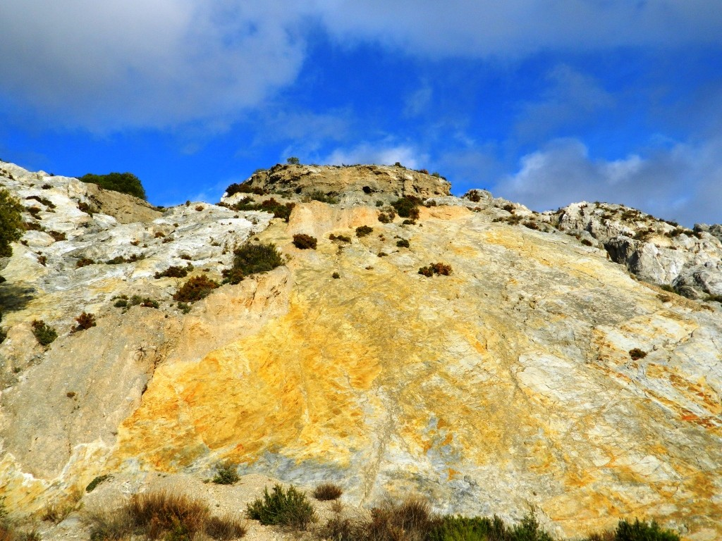 Cosa vedere Niguelas_Granada_faglia roccia_Andalusia