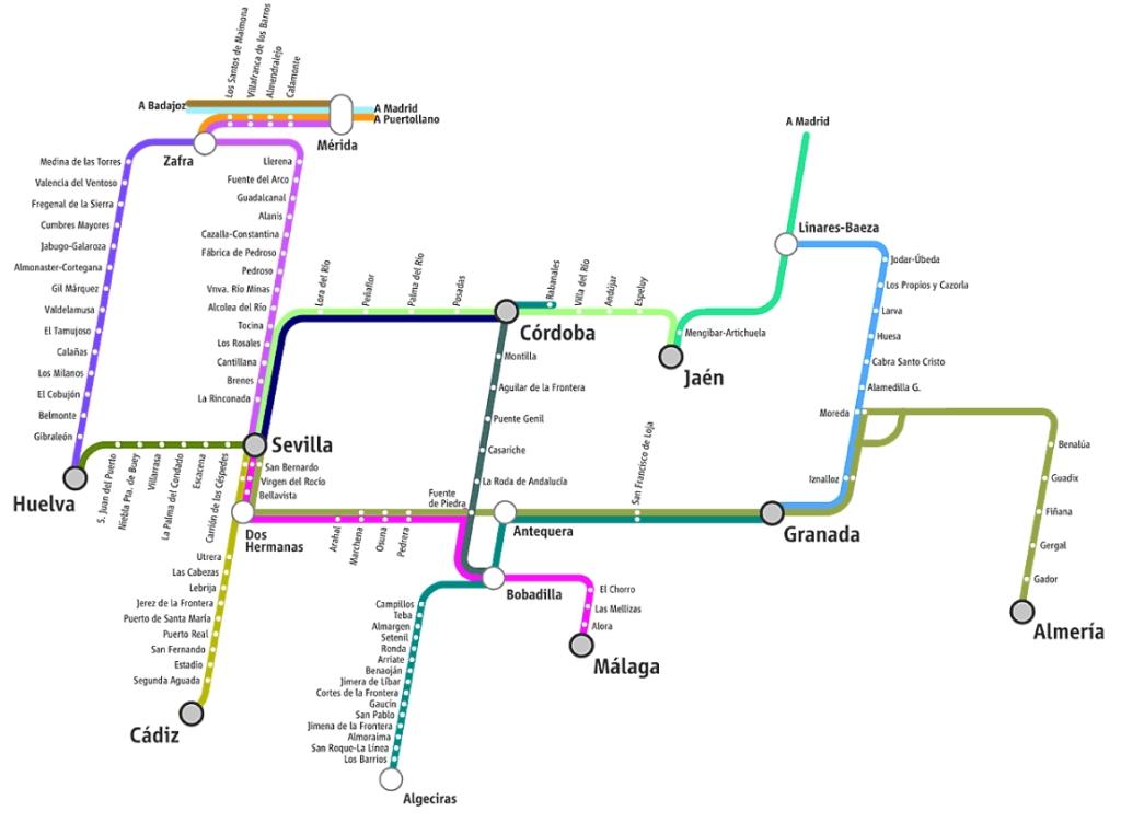 Trasporti Andalusia