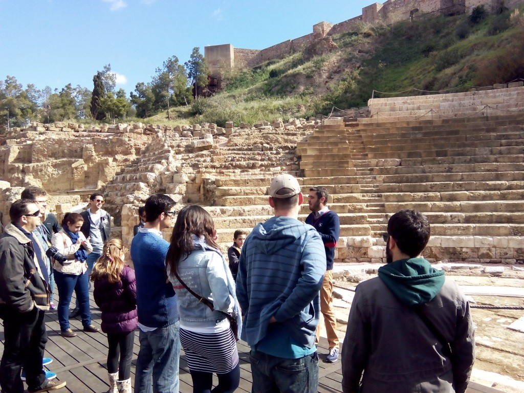 Malaga weekend cosa fare anfiteatro