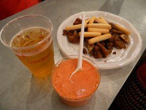Vela_Santa_Ana_triana_Siviglia_mangiare