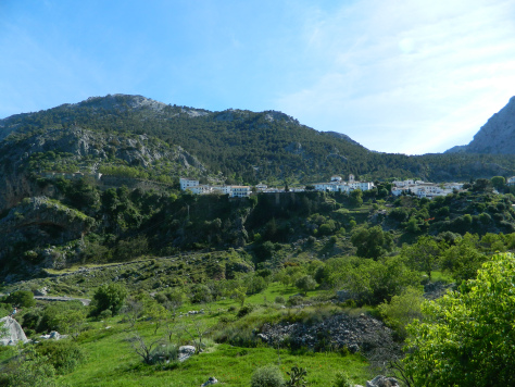 Un punto bianco nella sierra de Grazalema