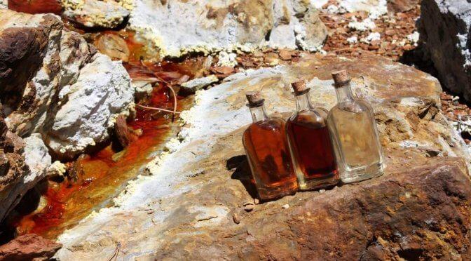 Las minas del Riotinto, un paesaggio marziano in Andalusia
