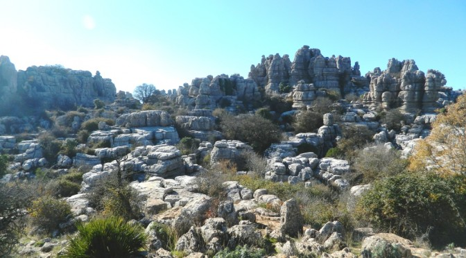 El Torcal de Antequera: un paesaggio lunare a 30 minuti da Malaga