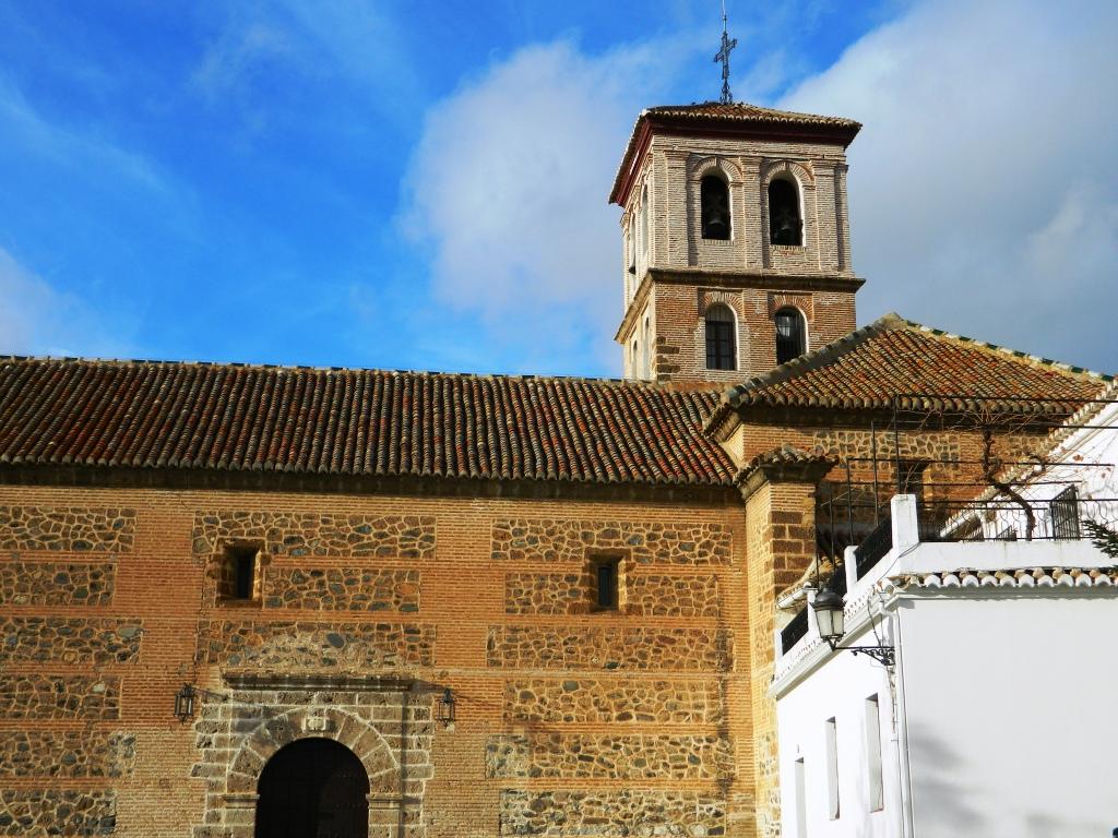 Cosa vedere Niguelas_Granada_Chiesa_Andalusia