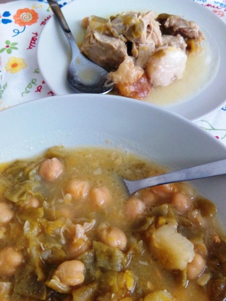 Cocido andalusia_cosa mangiare_Pringa