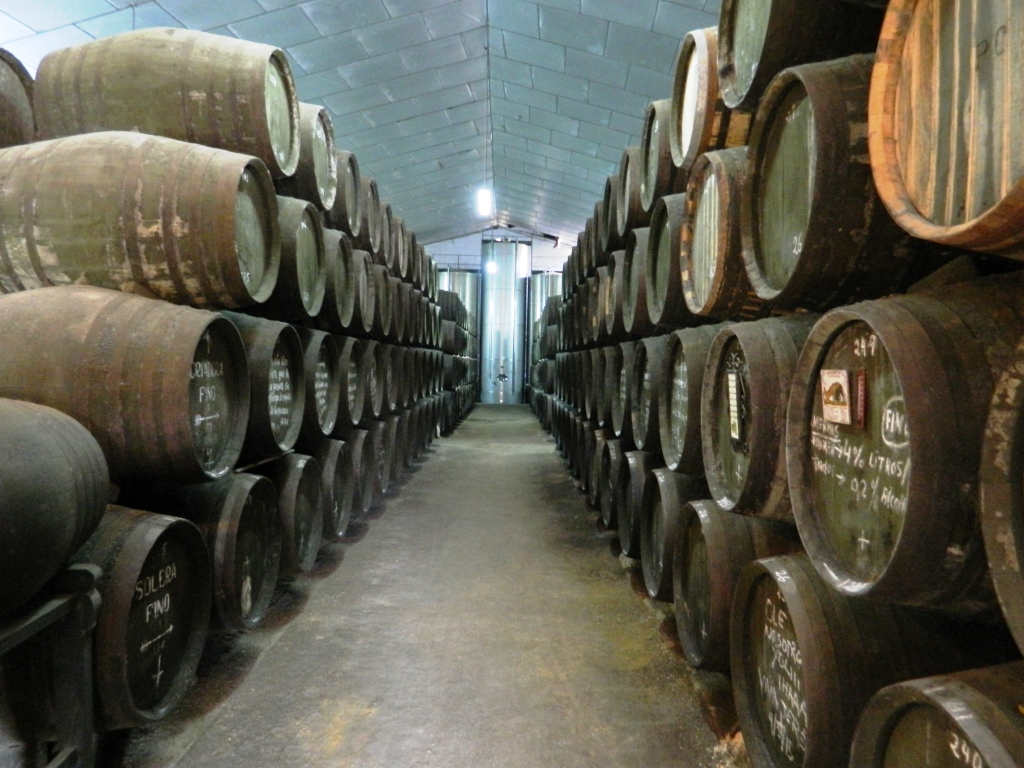 Cosa vedere Jerez de la frontera Andalusia Vino Cantina