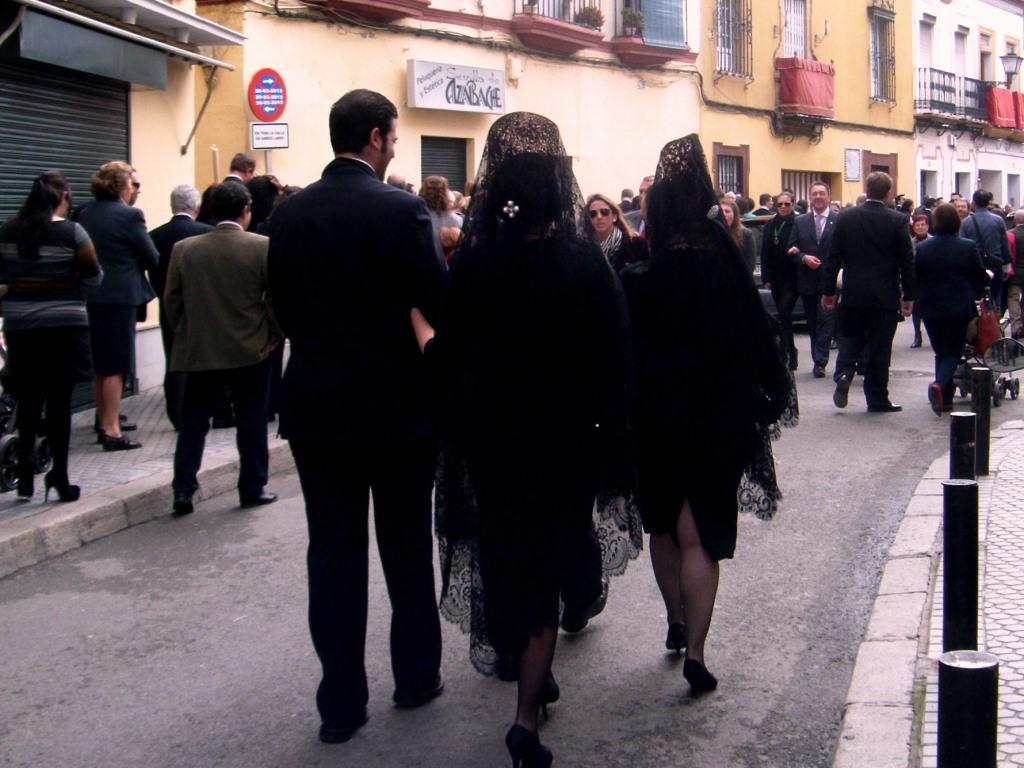 Semana santa andalusia Mantilla