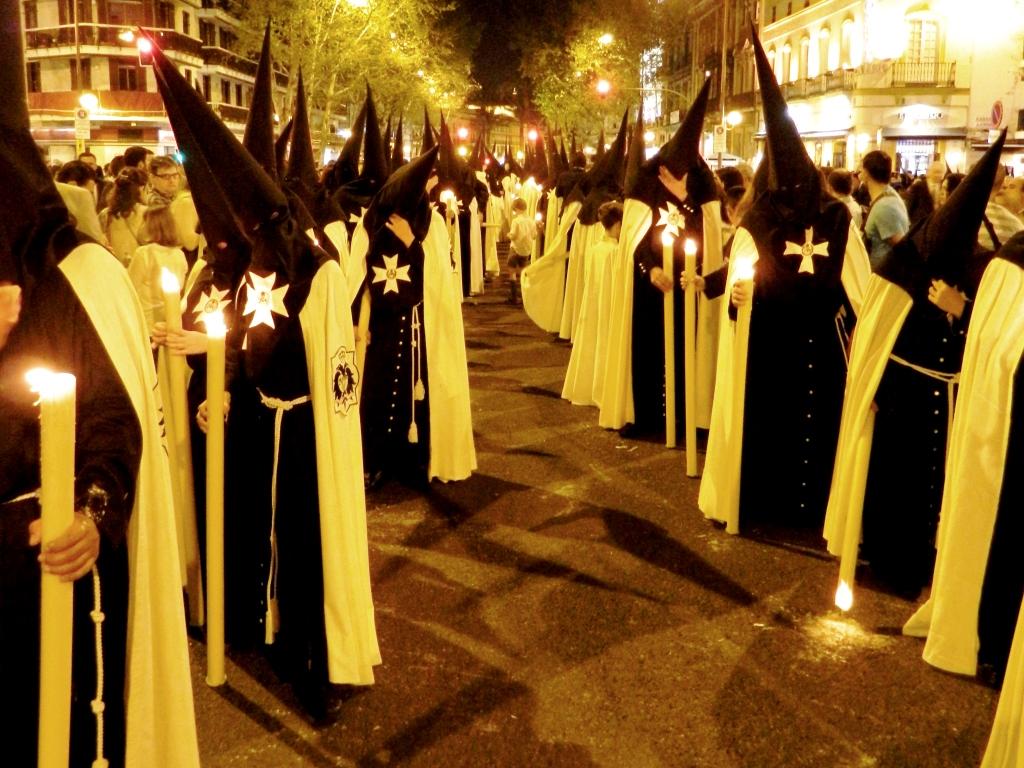 Semana santa andalusia Nazarenos