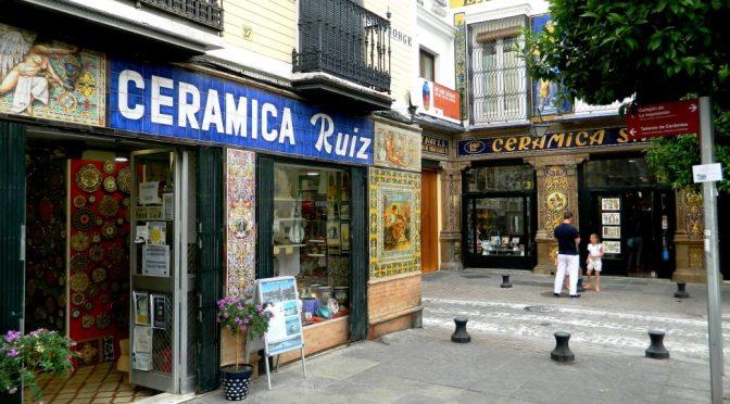 I molteplici colori della ceramica d'Andalusia
