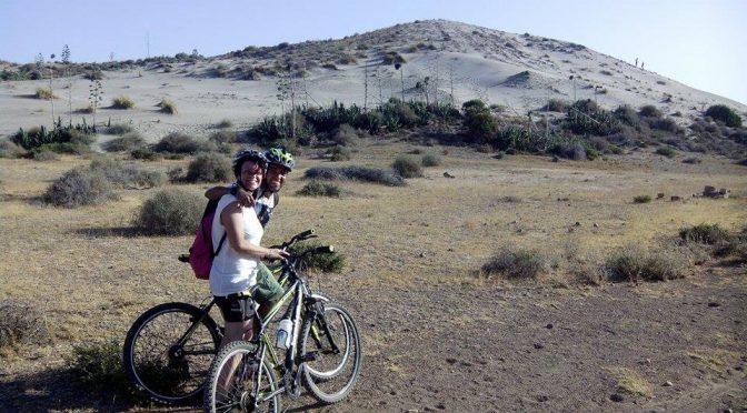 In bicicletta nel Parco Naturale di Cabo de Gata-Níjar