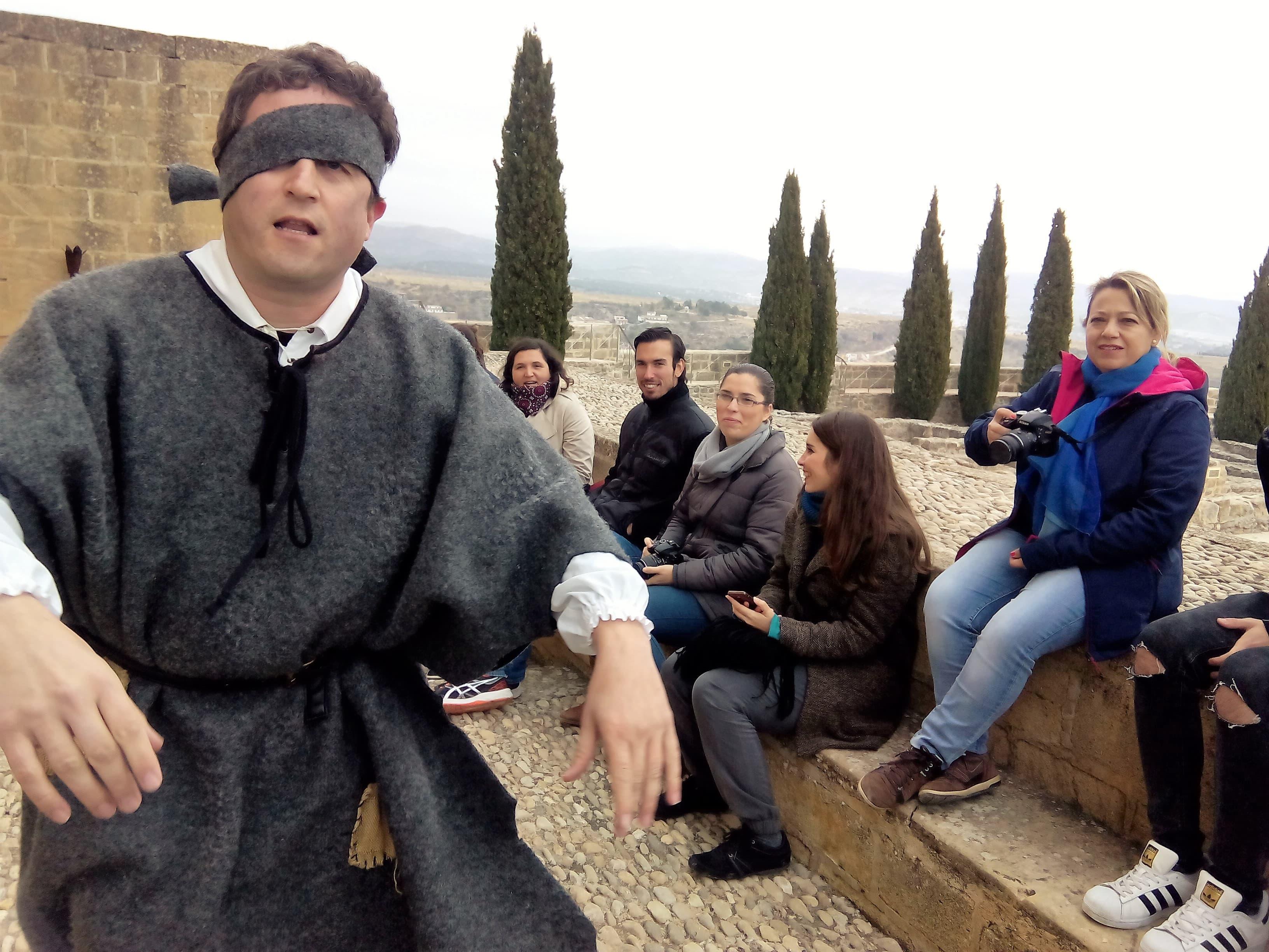 Alcala_la_real_mota_tuhistoria