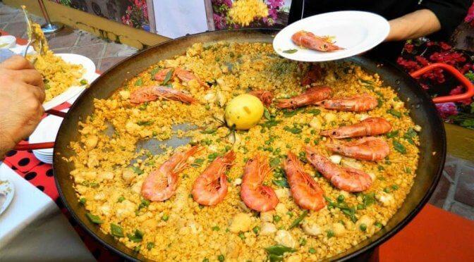 Dove mangiare paella a Siviglia e Malaga