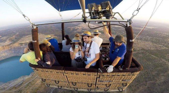 Volare in mongolfiera in Andalusia: la mia esperienza a Siviglia