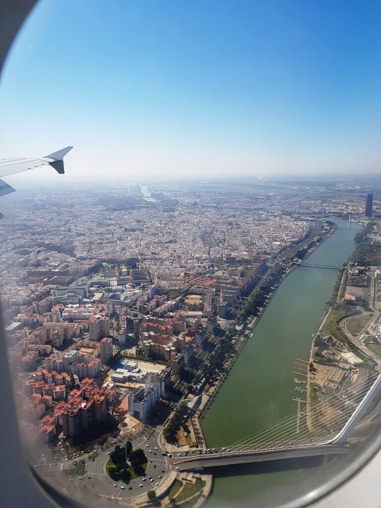 arrivare_Madrid_Siviglia_aereo